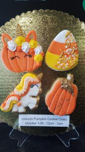Unicorn Pumpkin Cookie